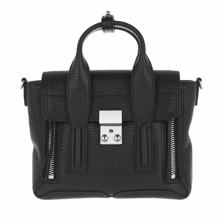 bags, 3.1 Phillip Lim, Pashli Mini Satchel Black/Nickel