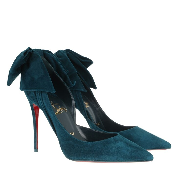 Schuh, Christian Louboutin, Rabakate 100 Suede Pumps Captaine