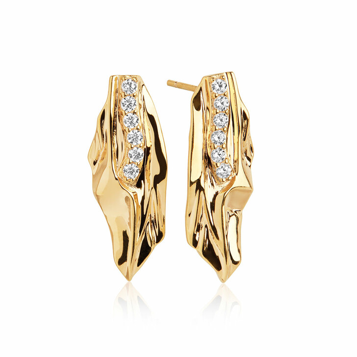 Ohrring, Sif Jakobs Jewellery, Vulcanello Earrings Yellow Gold