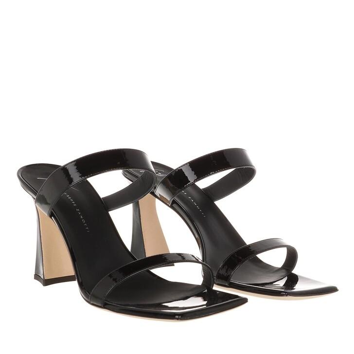 Schuh, Giuseppe Zanotti, Vern Nero Sandal Black