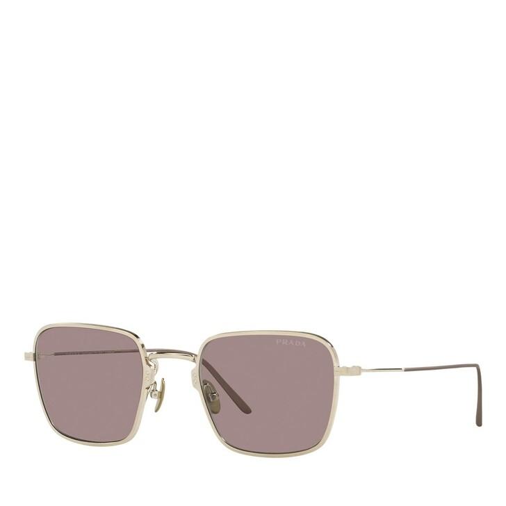 Sonnenbrille, Prada, 0PR 54WS Pale Gold