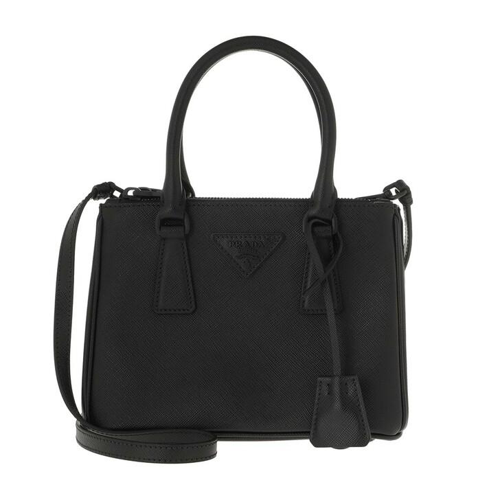 Handtasche, Prada, Tote Saffiano Leather Black/Black