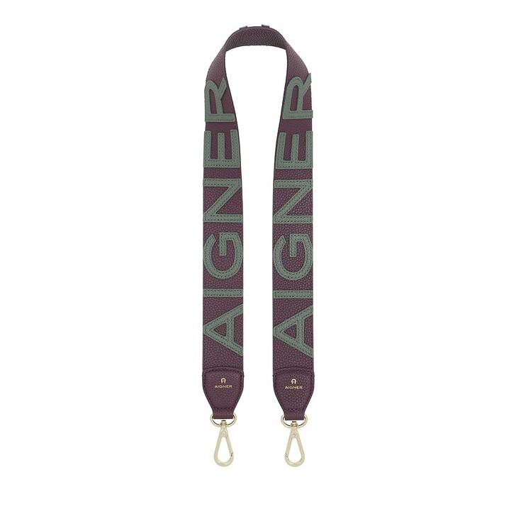 straps, AIGNER, Fashion Bagstrap Plum