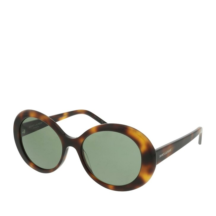 Sonnenbrille, Saint Laurent, SL 419-002 56 Sunglass WOMAN ACETATE Havana