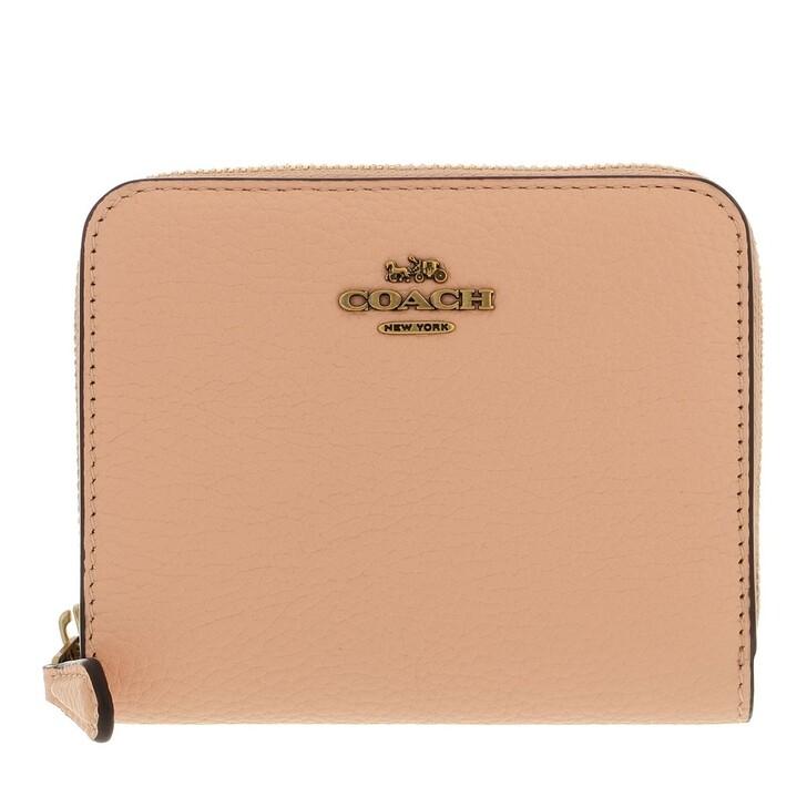 wallets, Coach, Colorblock Leather Billfold Wallet B4/Faded Blush Multi