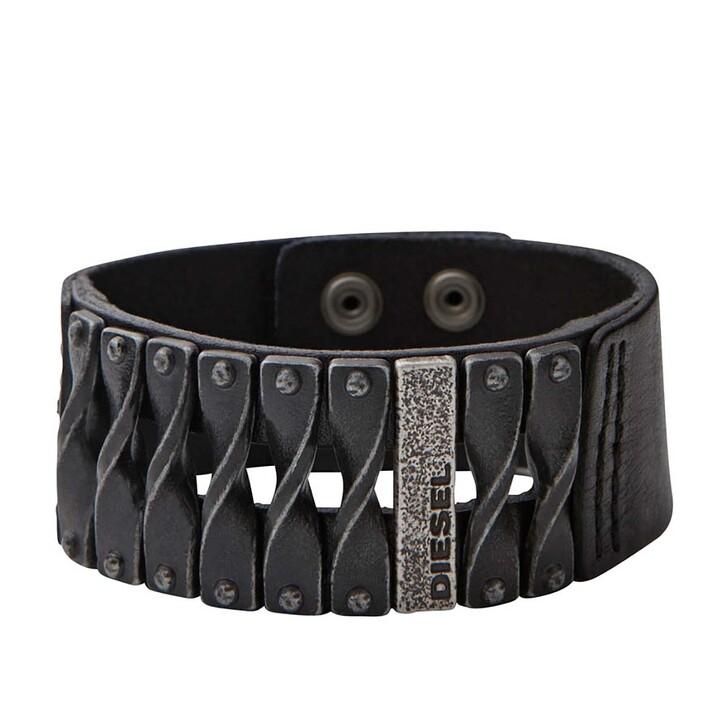 Armreif, Diesel, Bracelet DXM0579040 Black