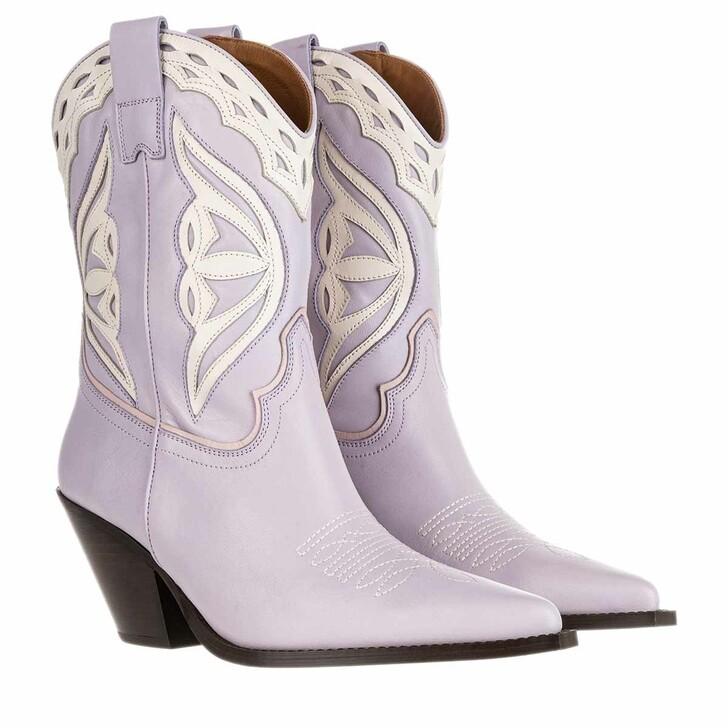 Schuh, Toral, Boots Seta Lila