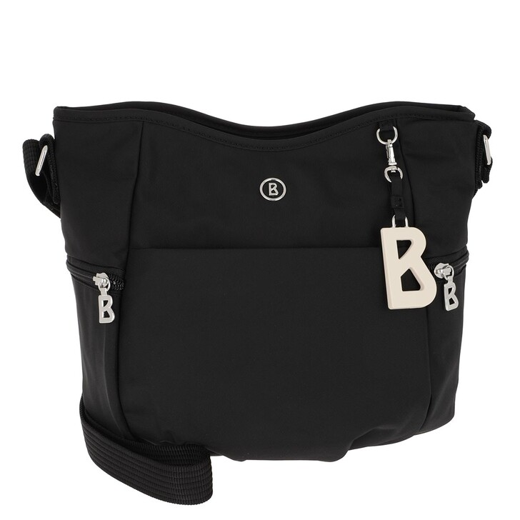 Handtasche, Bogner, Verbier Aria Shoulder Bag Black