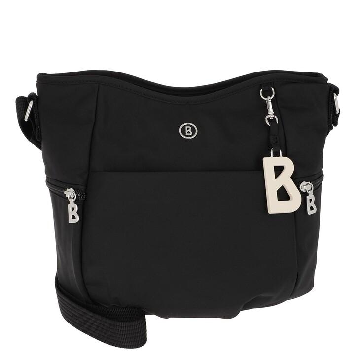 bags, Bogner, Verbier Aria Shoulder Bag Black