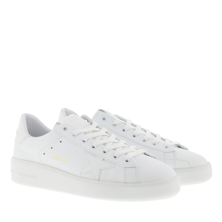 Schuh, Golden Goose, Purestar Sneakers Leather White