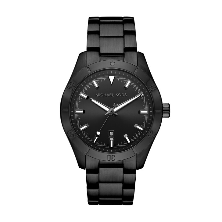 watches, Michael Kors, Layton Watch Black