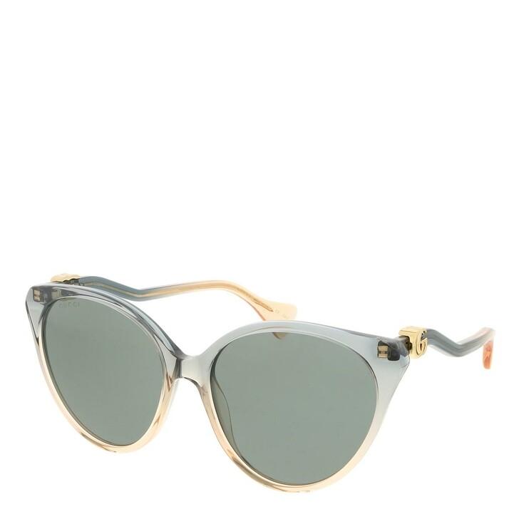 sunglasses, Gucci, GG1011S-002 57 Sunglass Woman Acetate Blue-Blue-Grey