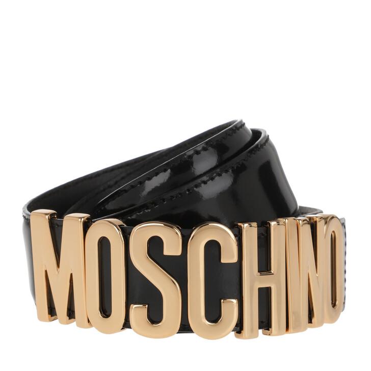 Gürtel, Moschino, Belt Nero