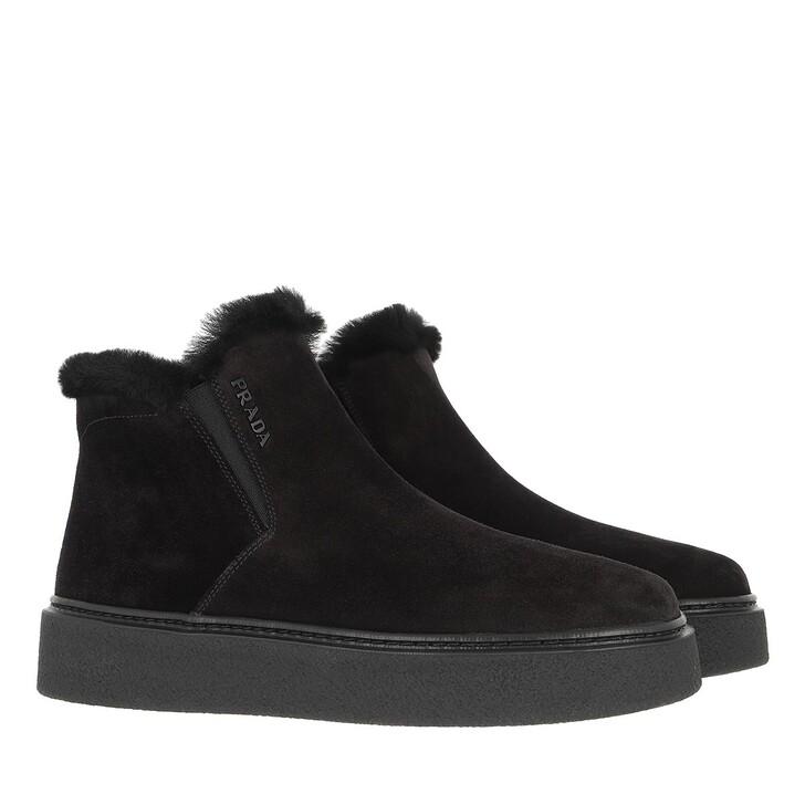 shoes, Prada, Sneakers Black