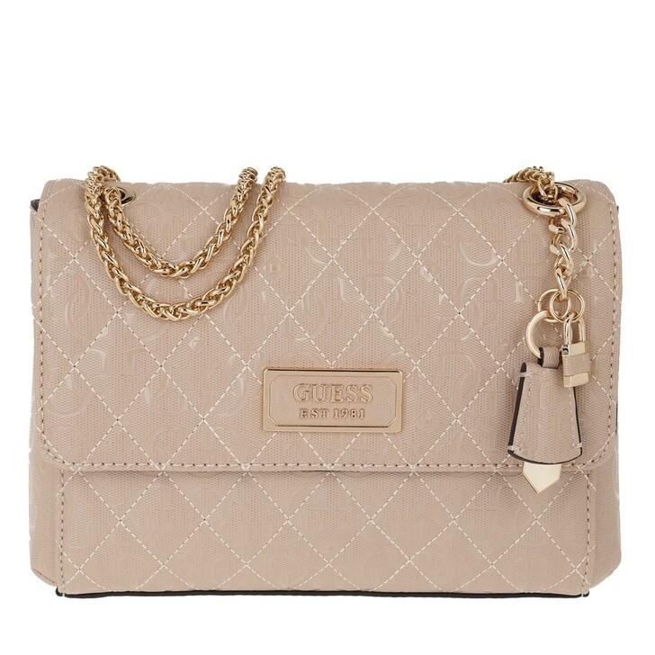 Handtasche, Guess, Lola Convertible Flap Crossbody Rose
