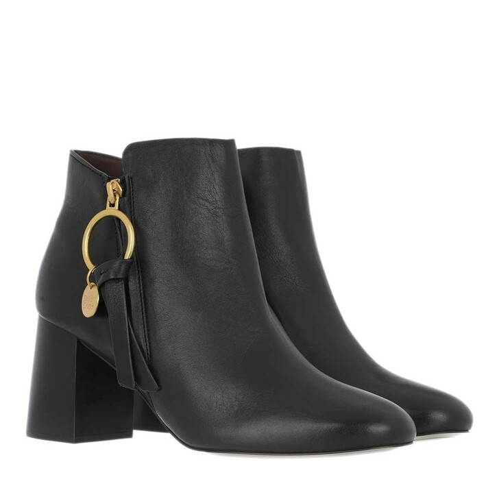 Schuh, See By Chloé, Boots Leather Black