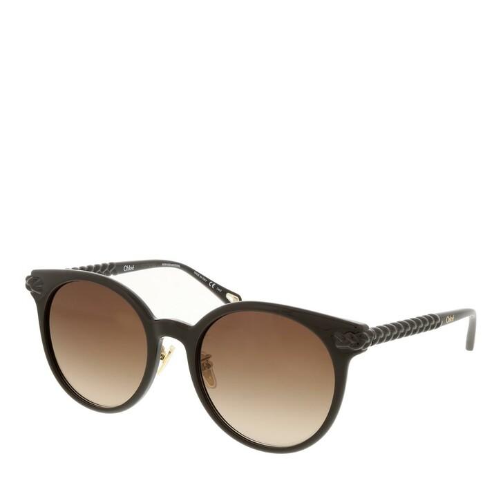 sunglasses, Chloé, CH0074SK-002 55 Sunglass Woman Bio Injection Brown-Brown-Brown