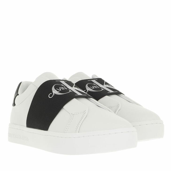 shoes, Calvin Klein, Cupsole Elastic Sneaker Bright White