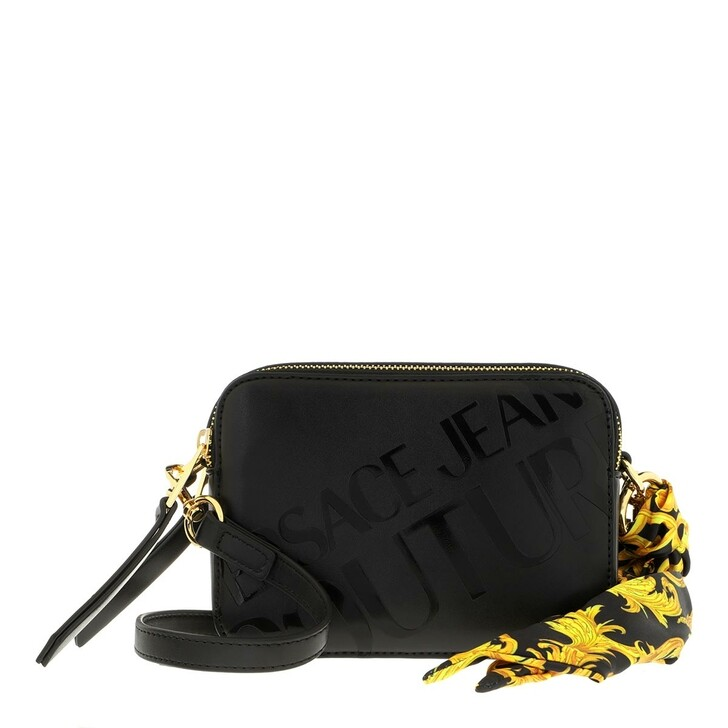 Handtasche, Versace Jeans Couture, Small Camera Bag Leather Black