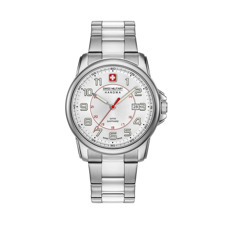 Uhr, Swiss Military, Men Watch Swiss Grenadier White