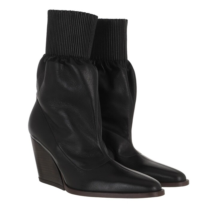 Schuh, Kenzo, Billow Low Top Boots Leather Black