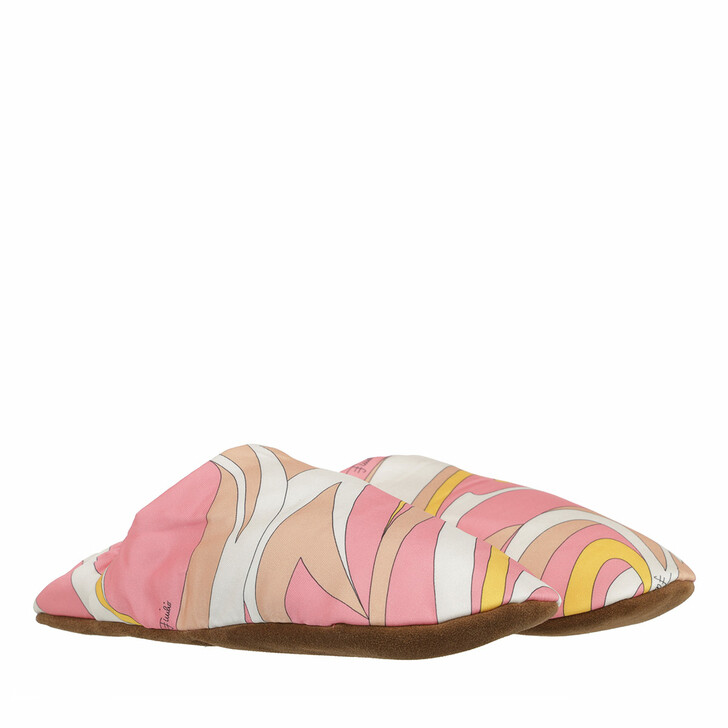 shoes, Emilio Pucci, Slippers Rosa