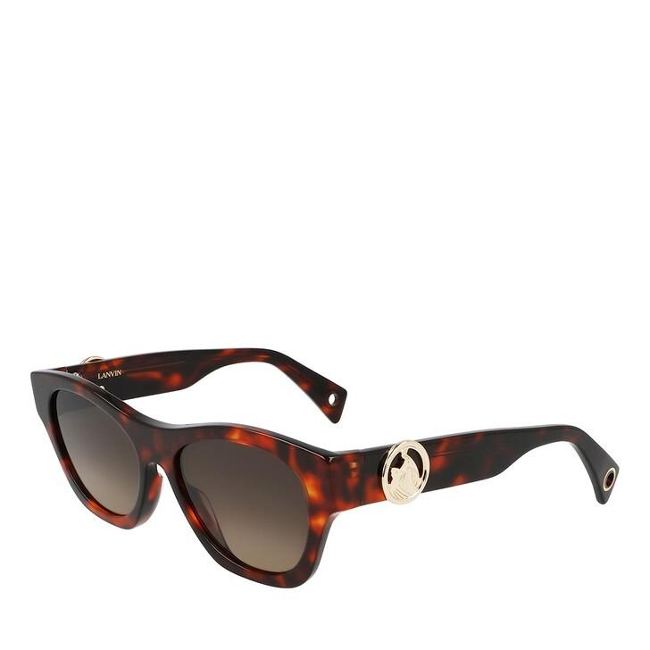 Sonnenbrille, Lanvin, LNV604S HAVANA RED