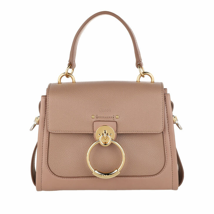 Handtasche, Chloé, Tess Day Mini Crossbody Bag Leather Woodrose