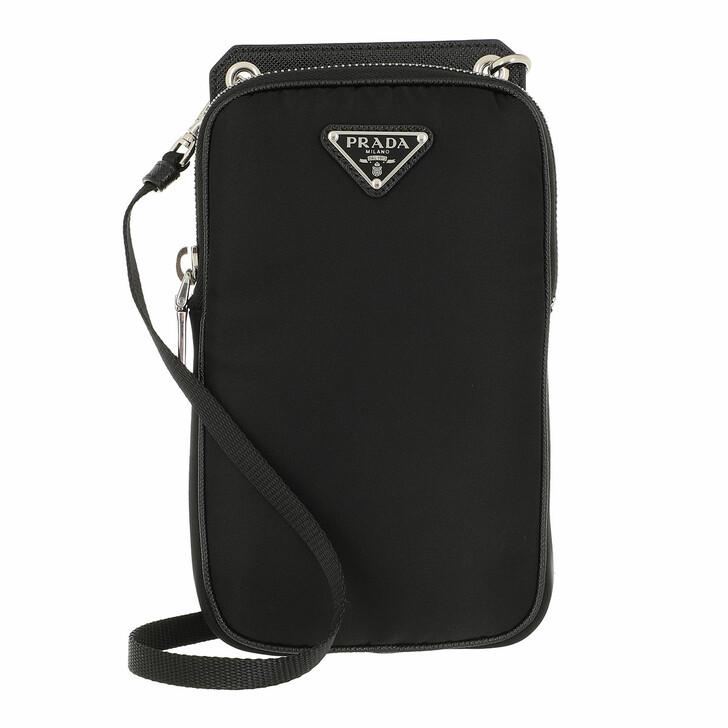 Smartphone/Tablet case (Case), Prada, Smartphone Case Bag Nylon Black