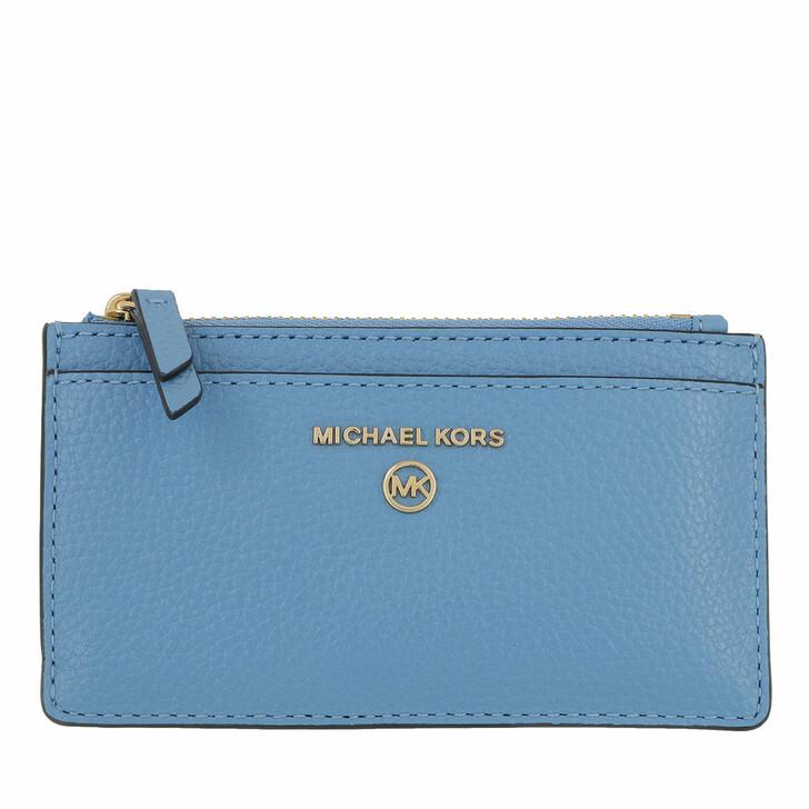 Geldbörse, MICHAEL Michael Kors, Jet Set Charm Slim Card Wallet Leather Sth Pacific