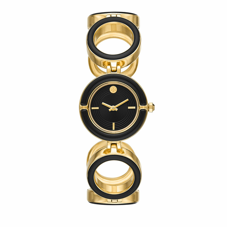 watches, Tory Burch, Women's The Sawyer Two-Hand Stainless Steel Watch  Gold