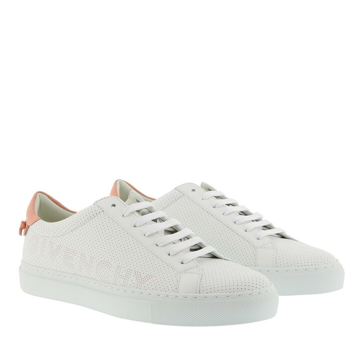 shoes, Givenchy, Sneakers Perforated Leather White