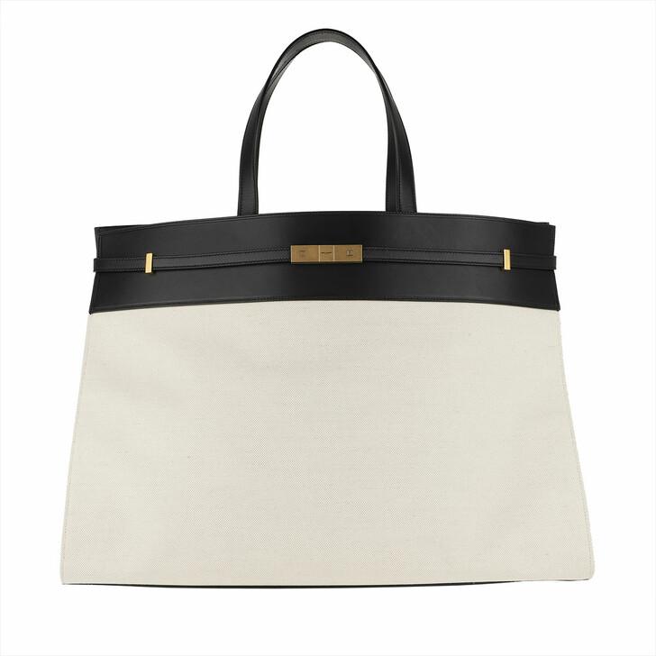 Handtasche, Saint Laurent, Saint Laurent Bag 554039 GGK9W Grigio/Nero