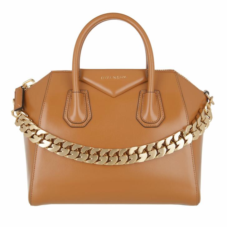 bags, Givenchy, Small Antigona Chain Tote Bag  Tan
