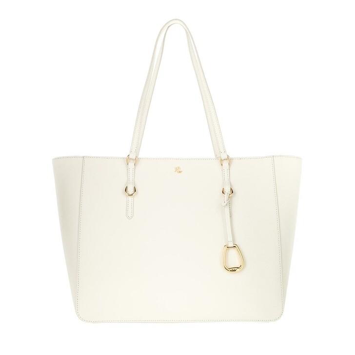 Handtasche, Lauren Ralph Lauren, Tote Tote Medium Vanilla