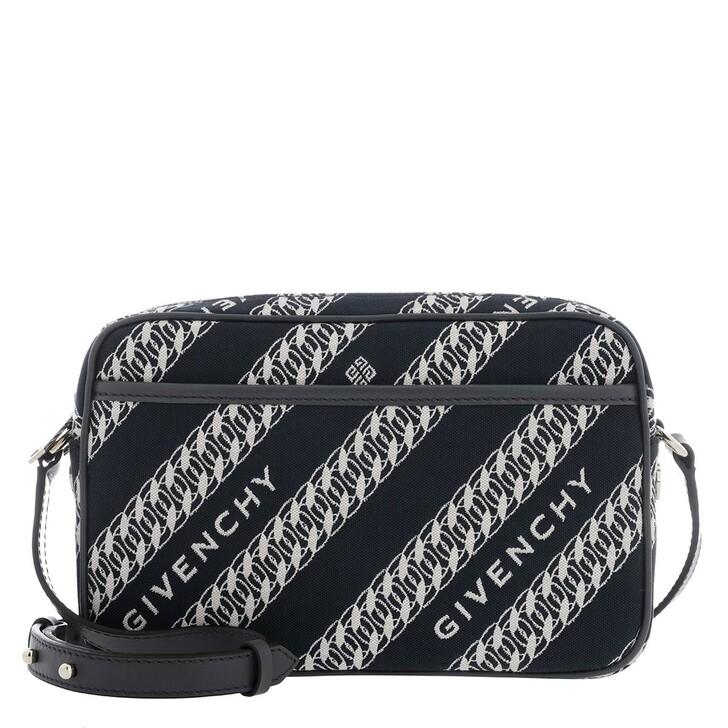 Handtasche, Givenchy, Bond Camera Bag Oil Blue
