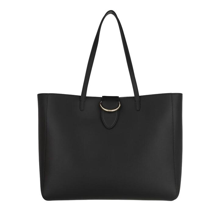 Handtasche, Borbonese, Medium Bridge Shopping Bag  Black