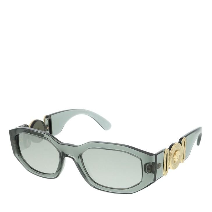 sunglasses, Versace, Unisex Sunglasses Rock Icons 0VE4361 Transparent Grey