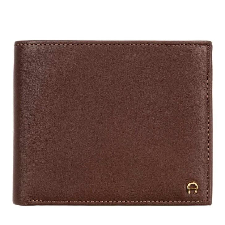 Geldbörse, AIGNER, Basics Wallet Cognac