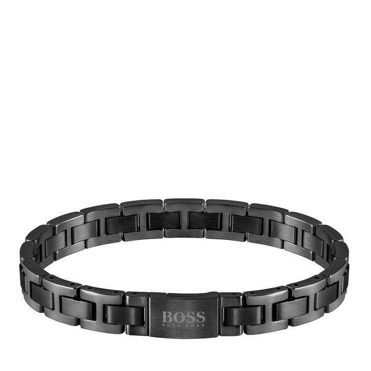 Armreif, Boss, Man Metal Link Essentials Bracelet Black
