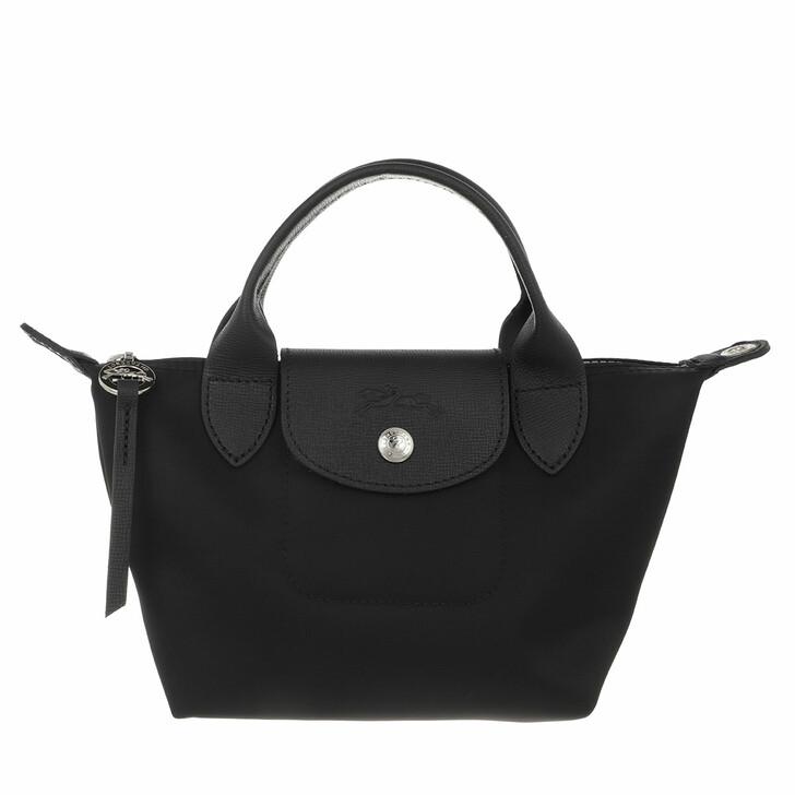 bags, Longchamp, Le Pliage Néo Handbag Black