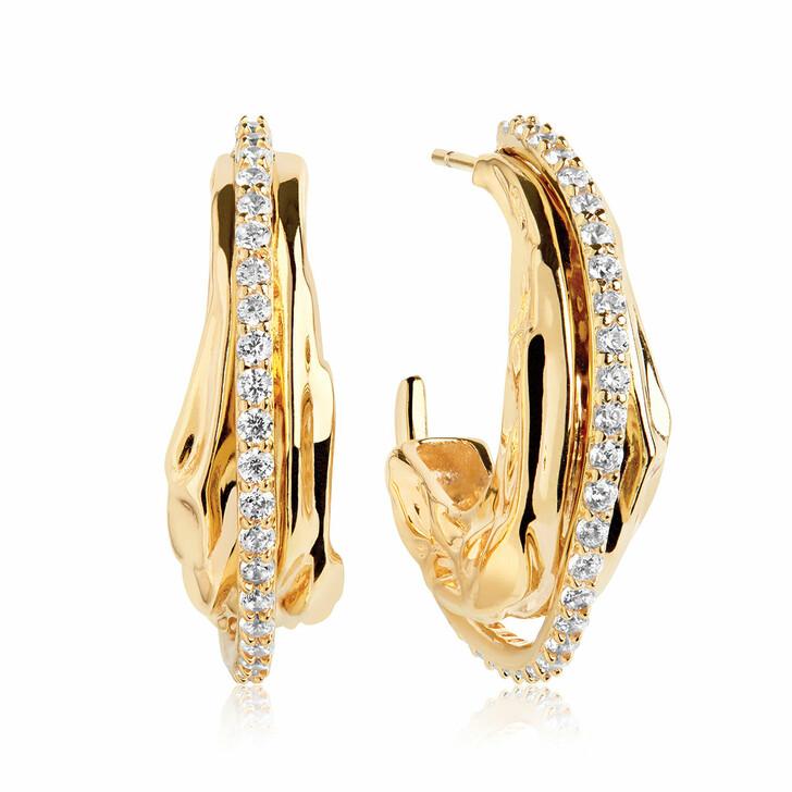 Ohrring, Sif Jakobs Jewellery, Vulcanello Grande  Earrings Yellow Gold