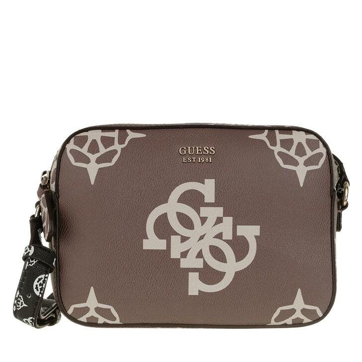 Handtasche, Guess, Kamryn Crossbody Bag Taupe Multi