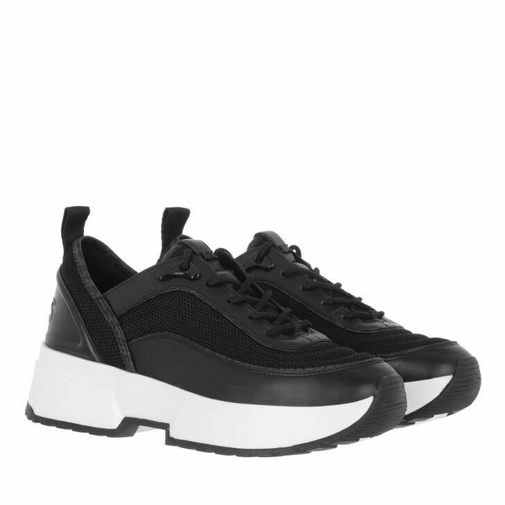 shoes, MICHAEL Michael Kors, Chaplin Trainer Black