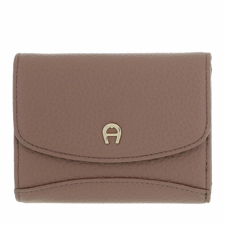 wallets, AIGNER, Selma Wallet Mushroom Brown