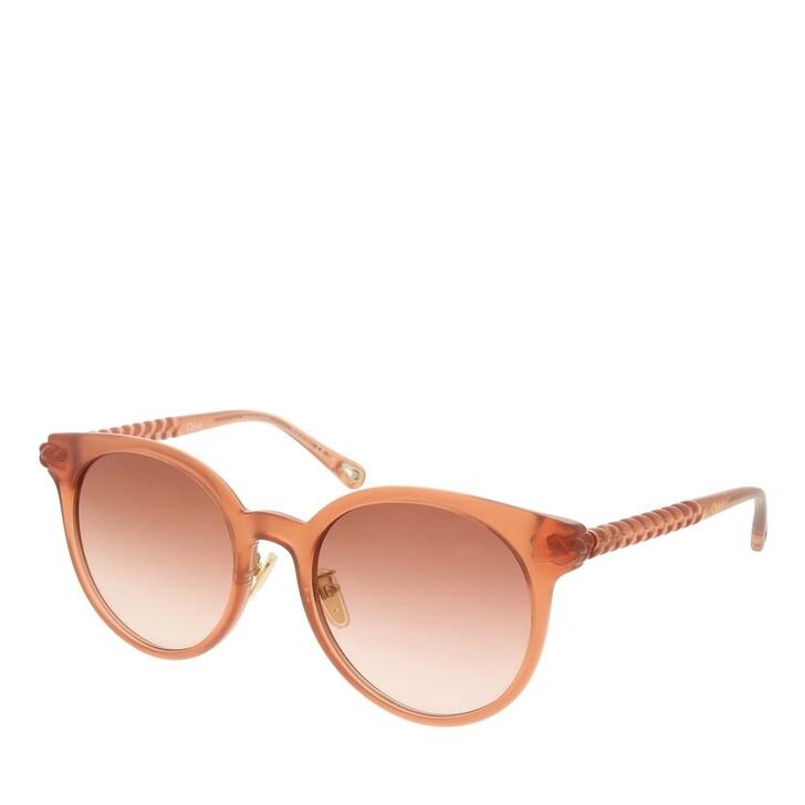 sunglasses, Chloé, CH0074SK-003 55 Sunglass Woman Bio Injection Nude-Nude-Orange