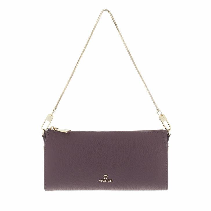bags, AIGNER, Ivy Mini Bag Plum