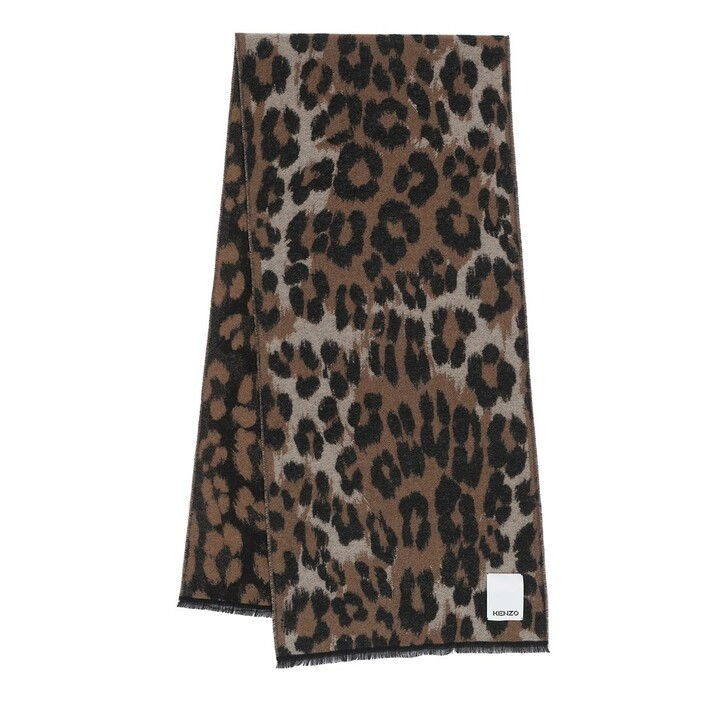 scarves, Kenzo, Echarpe Pale Camel