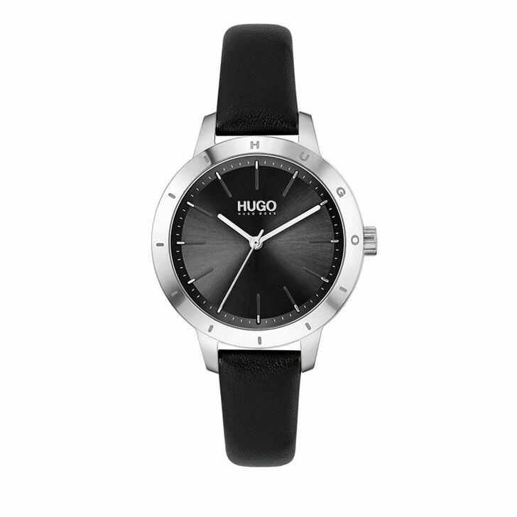 watches, Hugo, Watch Friend Black