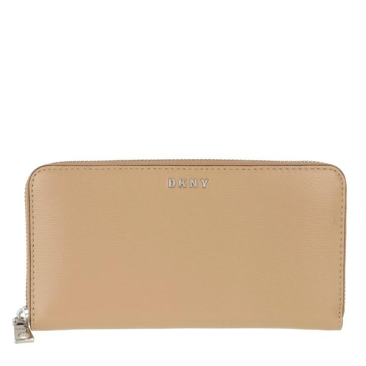 Geldbörse, DKNY, Bryant New Zip Around Wallet Jute